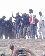 yash on the sets of KGF