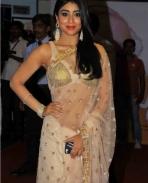 Shriya at Manam Premiere Show
