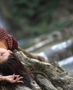 Mannara Chopra in Rogue movie
