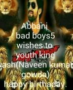 Yash fan from ABBANI Bad boys5