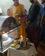 mohan sir @ have condoled the death of MLA Vijayadharanis husband Sivakumar Kennedy and paid tribute