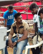 Bharjari movie latest working stills