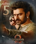 Baahubali 2 movie fifth week poster
