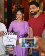 avane srimannarayana movie launch stills