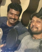 sudeep dubbing for the villain movie