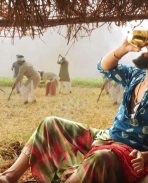 rangasthalam movie latest pics from Rangamma Mangamma