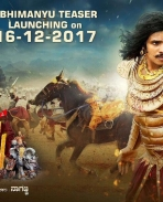 Nikhil Gowdas Abhimanyu Teaser of Kurukshetra