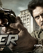 officer movie first look posters