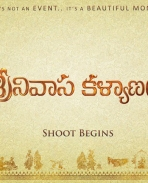 Srinviasa Kalyanam movie first look photos