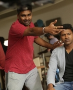 Natasaarvabouma movie latest working stills