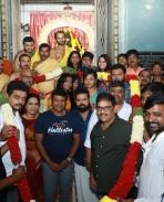 yuvaratna movie launch pics