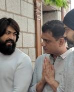 kgf chapater 2 movie Muhurtha pics