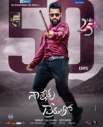 Nannaku Prematho movie 50 days poster