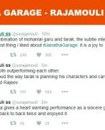 S S Rajamouli tweeted about Janatha garage
