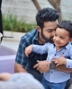Jr Ntr with his son
