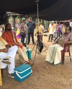 Om Namo Venkatesaya movie latest working stills