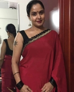 Pragathy aunty photos