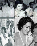rajinikanth with Latha