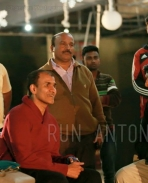 Sudeep at Run Antony Movie Sets