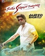 santhu straight forward movie audio release poster