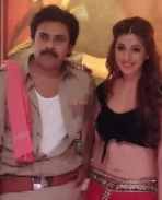 Sardaar Gabbar Singh working photos