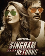 Singham Returns First Look Posters