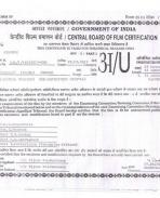 Censor Certificate
