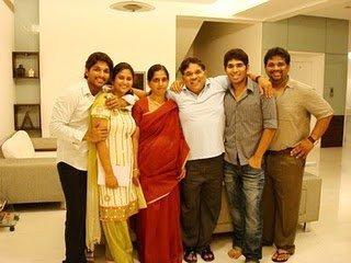 Allu arjun family