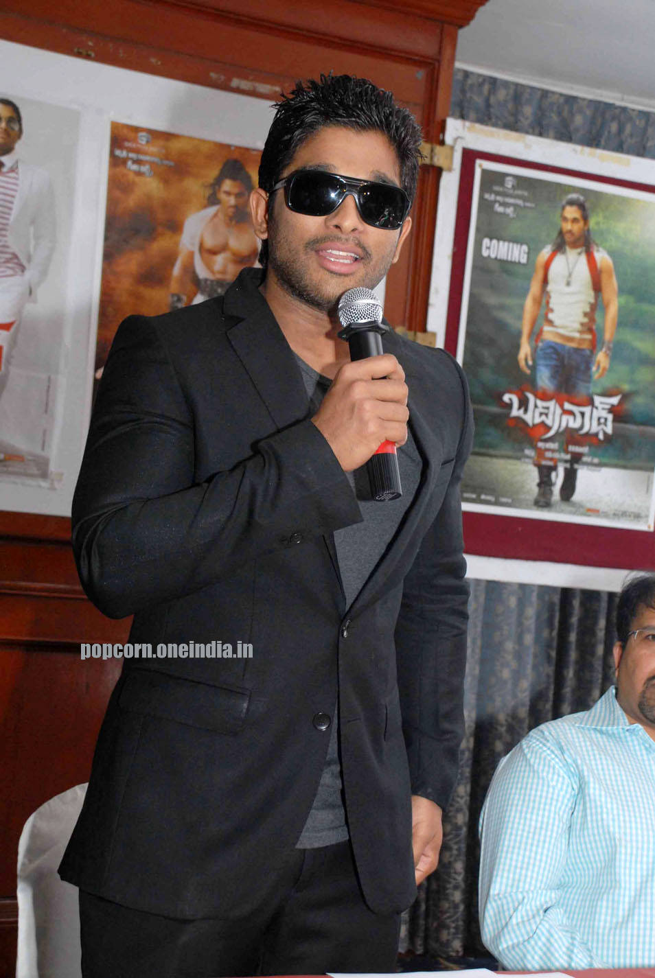 Allu Arjun at Bangalore for promotion 03