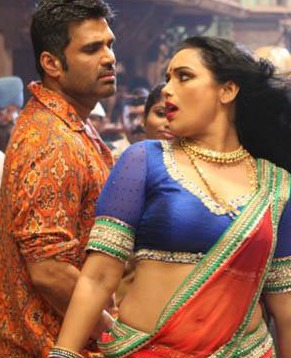 shwetha and sunil shetty dance