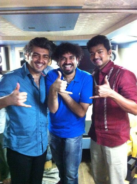 Ajith, Premji & Vijay
