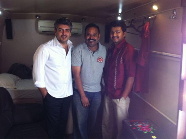 Ajith, Venkat Prabhu & Vijay