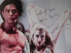 Signature from Shah Rukh Khan