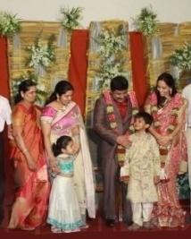 K E Gnanavel Raja Family @ his Marriage