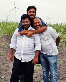 Actor Dhanush in Naiyaandi Shooting  Spot