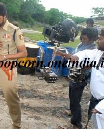 Police Story on set stills