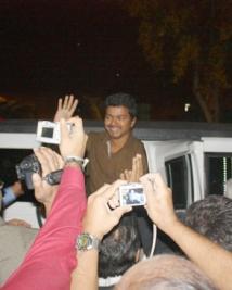 Vijay at Bay Area Fans Meet