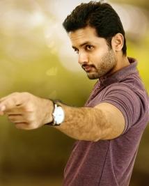 Nithin's latest Photos from A Aa movie