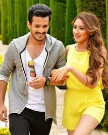 akhil movie latest photos
