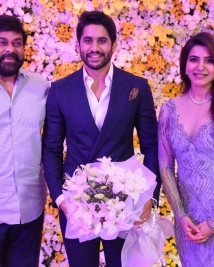 Naga Chaitnaya samantha wedding Reception photos