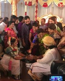 Chiranjeevi Sarja marriage photos