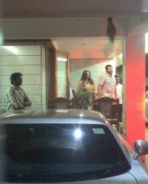 Mohanlal & Family Visited Mammoottys House!