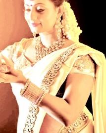Priyanka nair saree