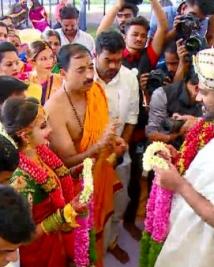 chandan shetty niveditha marriage photos