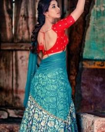 nabha natest latest stills