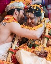 Hitha Chandrashekar Kiran srinivas marriage photos