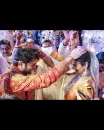 Nithiin marriage photos