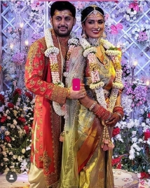 nithiin marriage pics