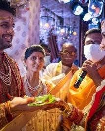 nithin marriage photos