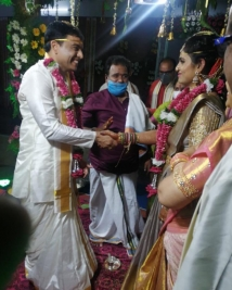 dil raju second marriage photos